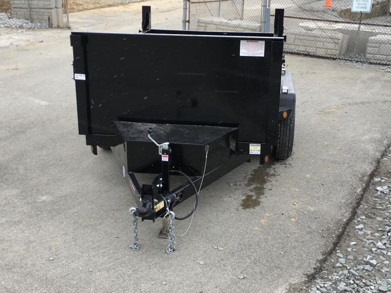 2019 QSA 6x10' Low Profile SD Dump Trailer 9850# GVW * CLEARANCE