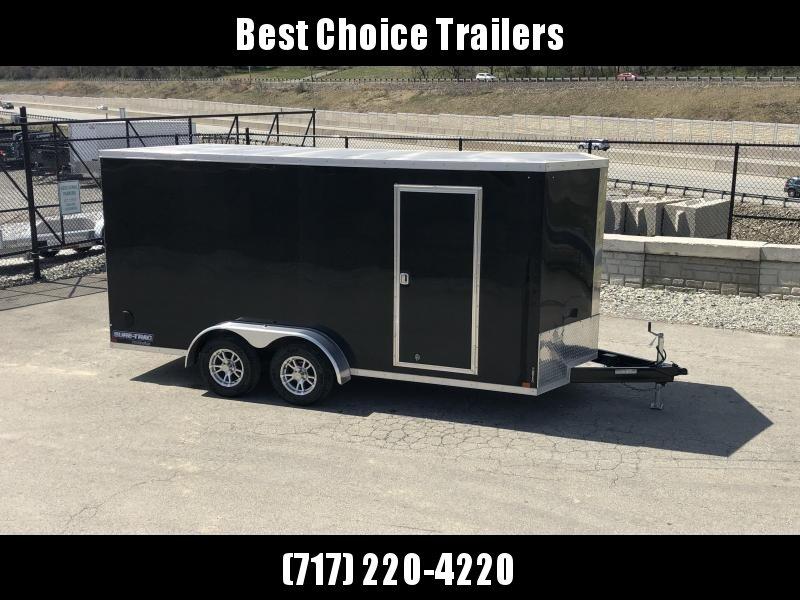 2020 Sure-Trac 7x16' Enclosed Cargo Trailer 7000# GVW * BLACK