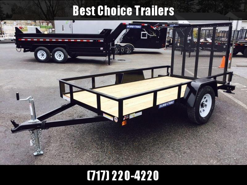 2019 Sure-Trac 6x10' Angle Iron Utility Trailer 2990# GVW * CLEARANCE