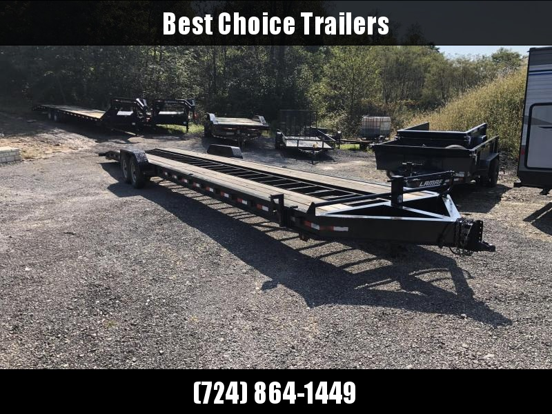 USED 2014 Down 2 Earth 102x43' 3-Car Hauler Trailer * OPEN CENTER