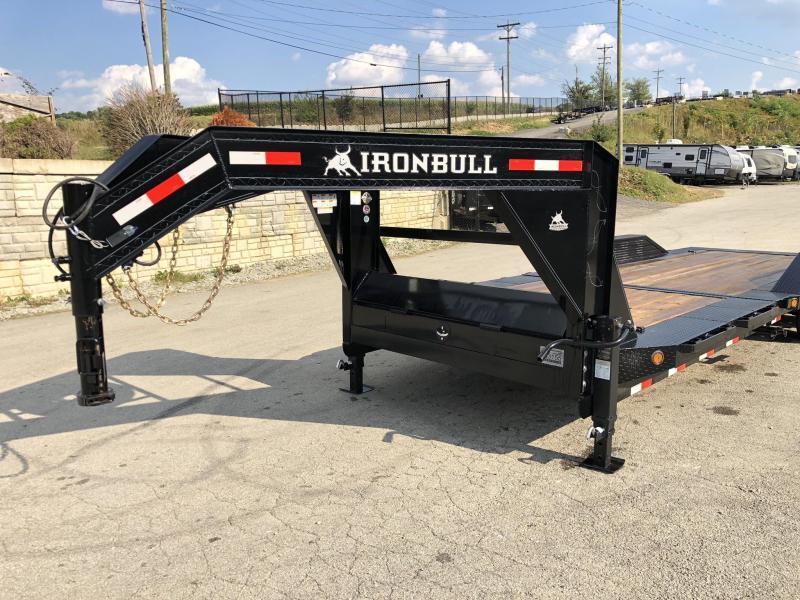 "2019 Ironbull 102x24 Gravity Tilt Equipment Trailer 14000# * 16+8' SPLIT DECK * TORSION * DEXTER'S * STOP VALUE * DRIVE OVER FENDERS * 102"" DECK"