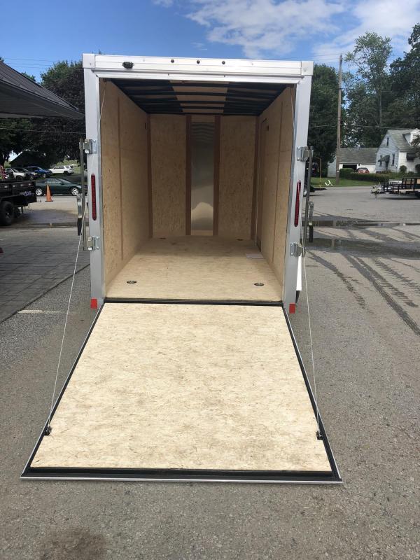 "2019 Wells Cargo 6x10' Fastrac DELUXE Enclosed Cargo Trailer 2990# GVW * SILVER EXTERIOR * RAMP DOOR * .030 EXTERIOR * 1PC ALUM ROOF * 6'6"" HEIGHT * TUBE STUDS * 16"" O.C WALLS"