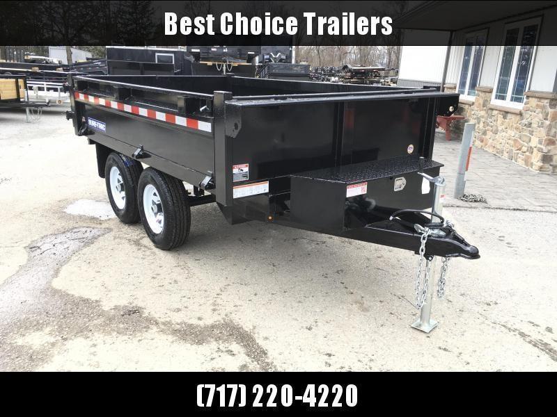 "2020 Sure Trac 6x10' Custom Deckover Dump Trailer 9900# GVW * 20"" FOLD DOWN SIDES * BARN DOORS * ADJUSTABLE COUPLER * DROP LEG JACK * 4"" TUBE BED FRAME * INTEGRATED KEYWAY * TARP PREP * D-RINGS * TRIPLE TUBE TONGUE * POWDERCOATED * SEALED HARNESS"