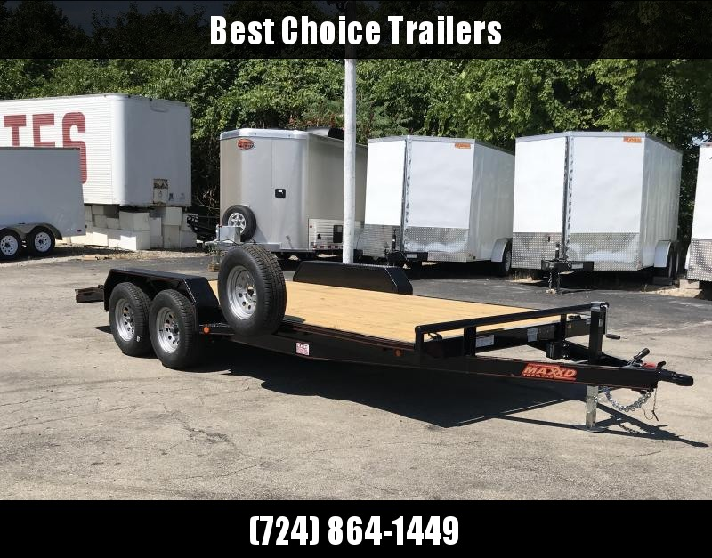 2018 Maxxd 7x18' 7000# GVW HD Car Hauler Trailer C5X8318