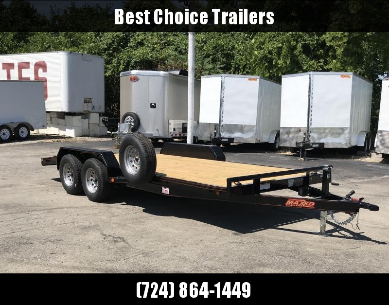 NEW Maxxd 7x18' 7000# GVW HD Car Hauler Trailer C5X8318 * CLEARANCE