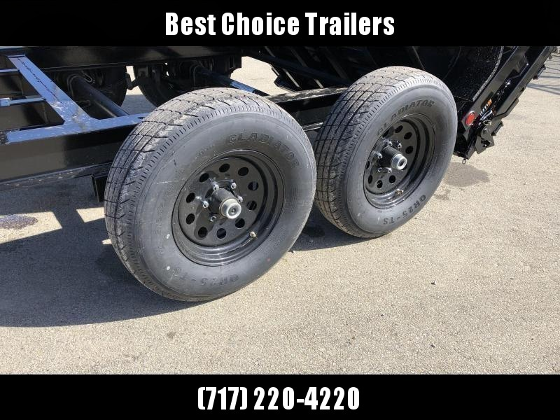 """2020 Load Trail 6x12' Dump Trailer 9990# GVW * DT7212052 * 2' SIDES * 3-WAY GATE * I-BEAM FRAME * TARP KIT * SCISSOR HOIST * 16"""" RUBBER * 6"""" TUBE BED FRAME * 110V CHARGER * DEXTER'S * 2-3-2 * POWDER PRIMER"""