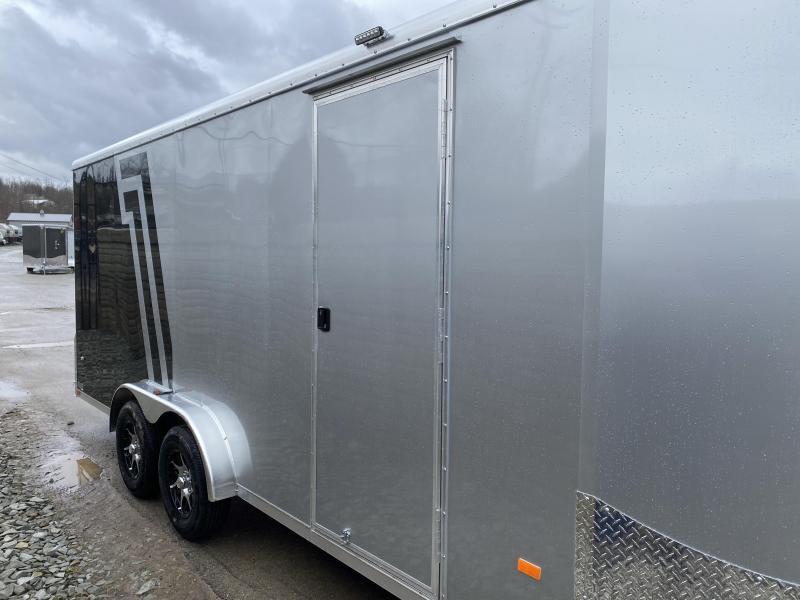2020 Neo 7.5x23' Aluminum Enclosed All-Sport Trailer * 7' HEIGHT - UTV PKG * 2-TONE * FRONT RAMP * LOADED * UTV * ATV * Motorcycle * Snowmobile