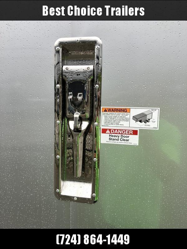 "2020 Neo 7.5x23' NASX Aluminum Enclosed All-Sport Trailer 7000# GVW * 7' HEIGHT UTV PKG * BLACK/SILVER W/ BRADLEY SLASH * DEXTER TORSION * 7.5' WIDTH * ALUMINUM WALLS W/ SKUFF * SPORT TIE DOWN * 16"" O.C. FLOOR/WALLS * PRO STAB JACKS * UPPER CABINET * ALUM"