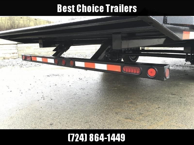 "2020 Ironbull 102x26' Deckover Power Tilt Trailer 16000# GVW * DEXTER 8000# AXLES * 14-PLY RUBBER * DUAL PISTON * I-BEAM FRAME * RUBRAIL/STAKE POCKETS/PIPE SPOOLS/D-RINGS/BANJO EYES * 6"" TUBE BED FRAME * 4X4X1/4 WALL TUBE BED RUNNERS (12#/')"