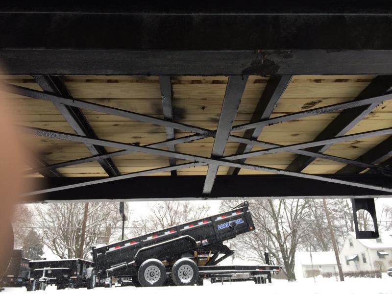 2020 Sure-Trac 102x25+5 Pintle Beavertail Deckover Trailer 22500# GVW * Pierced Frame OAK DECK & RAMPS PAVER TRAILER  * OAK RAMPS/TAIL/DECK * 2 FLIPOVER RAMPS