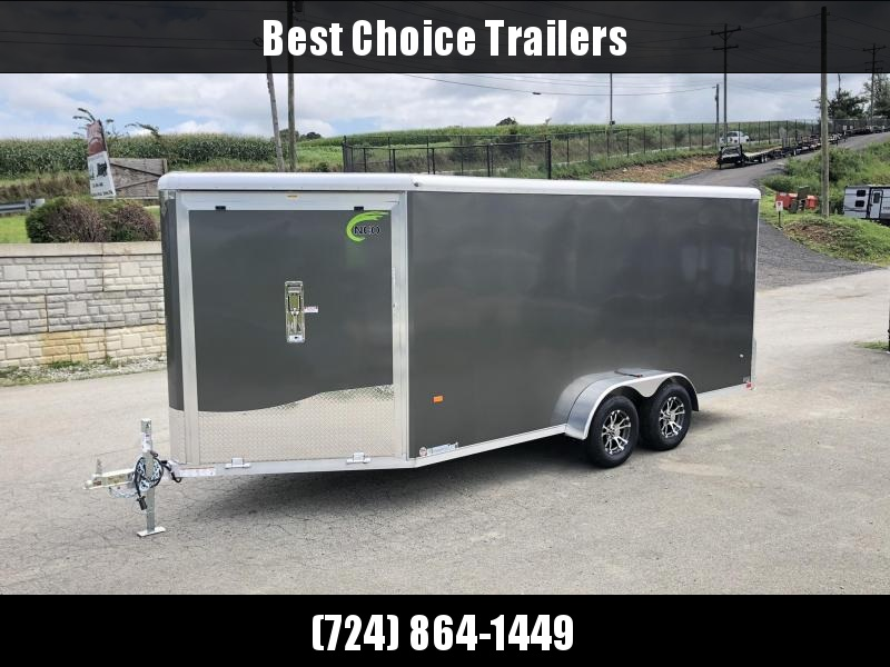 2020 Neo 7x20' Aluminum Enclosed All-Sport Trailer * SILVER * 7' HEIGHT UPGRADE UTV PKG  * LOTS OF OPTIONS * FINISHED WALLS * FRONT RAMP * UTV * ATV * Motorcycle * Snowmobile