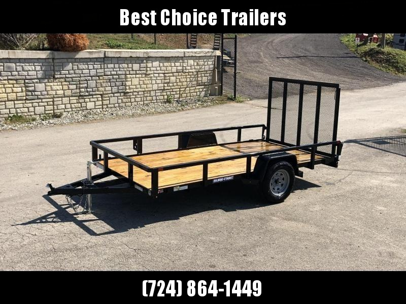 2020 Sure-Trac 6x12' 2990# Tube Top Landscape Utility Trailer