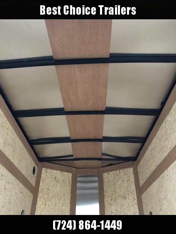 2020 Wells Cargo 5x8' Fastrac Enclosed Cargo Trailer 2990# GVW * WHITE EXTERIOR