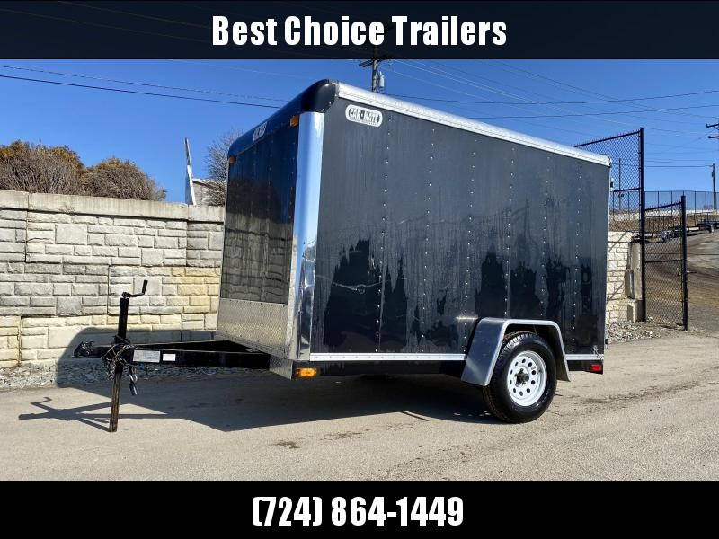 USED 2000 Car Mate 6x10' 2990# GVW Enclosed Cargo Trailer