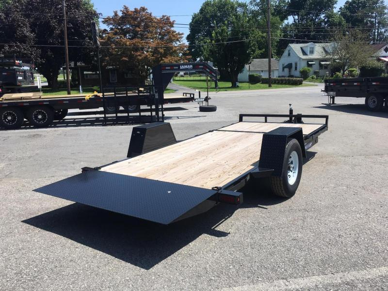 "2019 Sure-Trac 78""x12+4' Tilt Equipment Trailer Scissor Hauler 7800# GVW * OAK DECK * TOOLBOX * CLEARANCE"