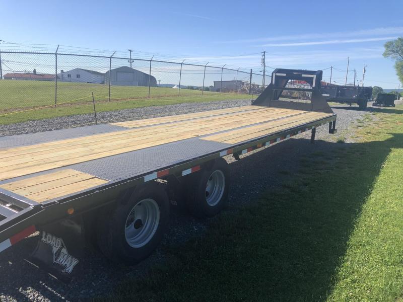 2019 Load Trail 102x28' Gooseneck Beavertail Deckover Flatbed 22000# Trailer * GP0228102 * MAX Ramps * HDSS Suspension * Dexter Axles