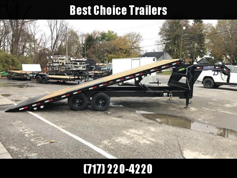 2020 Load Trail 102x26' Gooseneck Deckover Power Tilt Flatbed Trailer 14000# GVW * GE0226072 * SCISSOR * I-BEAM BEDFRAME * SIDE TOOLBOX * DUAL JACKS