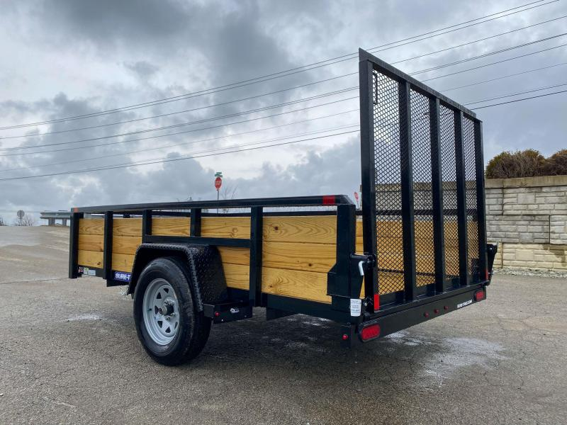 "2020 Sure-Trac 6x10' High Side Utility Landscape Trailer 2990# GVW * 24"" 3-BOARD HIGH SIDE * 2"" TUBE TOP RAIL * 2X2"" TUBE GATE C/M + SPRING ASSIST + FOLD FLAT * TOOLESS GATE REMOVAL * SPARE MOUNT * PROTECTED WIRING * SET BACK JACK * TRIPLE TUBE TONGUE"