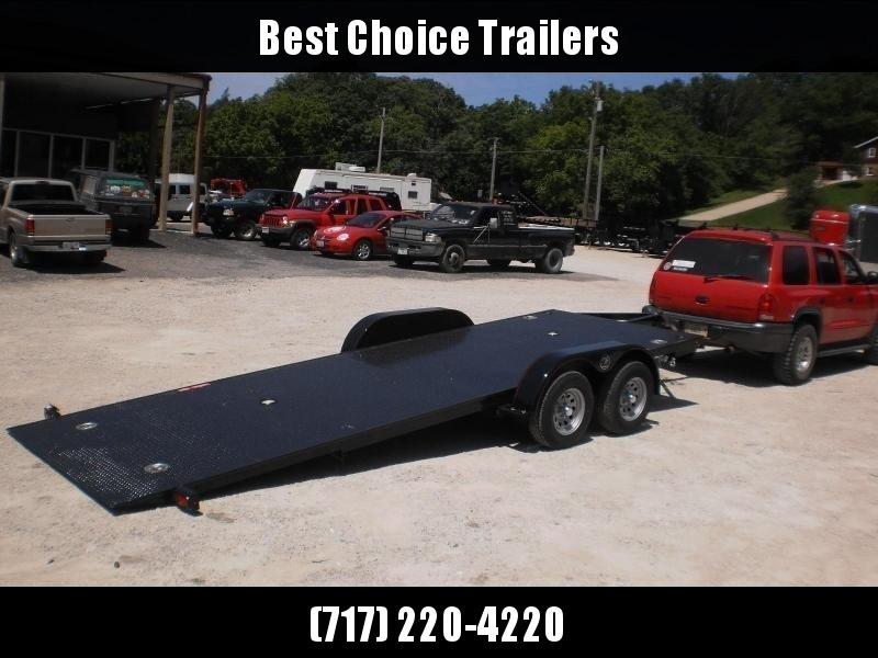 2019 Kwik Load 7x20' Texas Rollback Car Trailer 7000# GVW * ALUMINUM WHEELS * LOW LOAD ANGLE * STEEL FLOOR * TORSION * IN DECK TOOLBOXES * IN DECK LIGHTS * SWIVEL D-RINGS * REMOVABLE FENDERS * FULL WIDTH LOADING * CLEARANCE