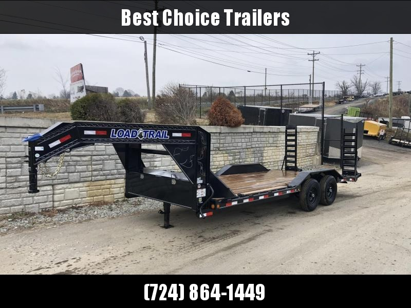 """2020 Load Trail 102x20' Gooseneck Equipment Trailer 14000# * 102"""" DECK * DRIVE OVER FENDERS * FULL TOOLBOX * WINCH PLATE * RUBRAIL * STAND UP RAMPS"""