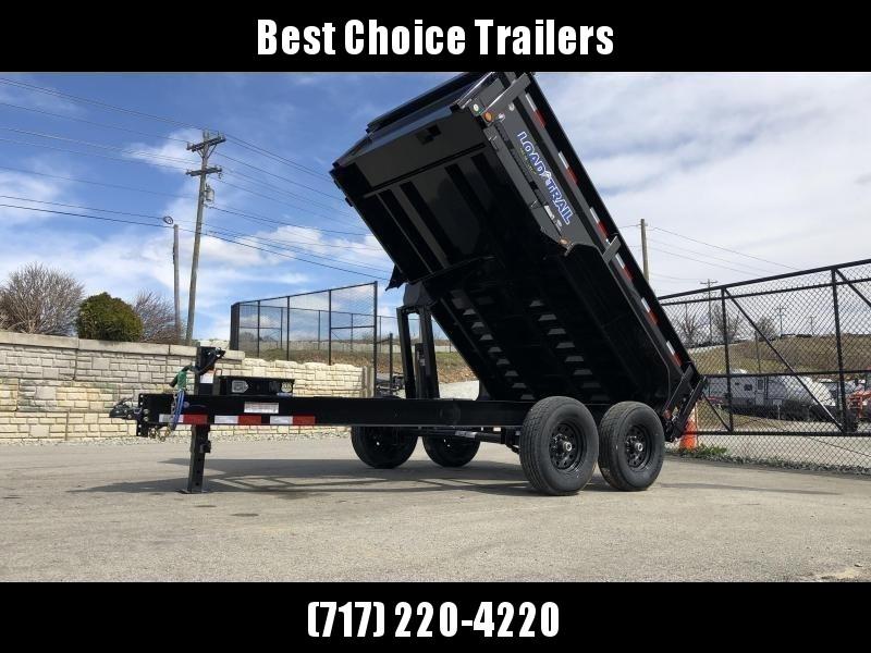 """2020 Load Trail 7x12' Dump Trailer 14000# GVW * DT8312072 * 8"""" I-BEAM FRAME * 12K JACK * 3-WAY GATE * TARP KIT * SCISSOR HOIST * 10GA 2PC SIDES & FLOOR * 6"""" TUBE BED FRAME * 110V CHARGER * DEXTER'S * 2-3-2 * POWDER PRIMER"""