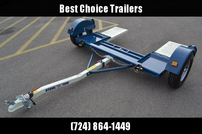 2020 Stehl Tow Dolly * ST80TD * ELECTRIC BRAKES * STRAPS & RATCHETS