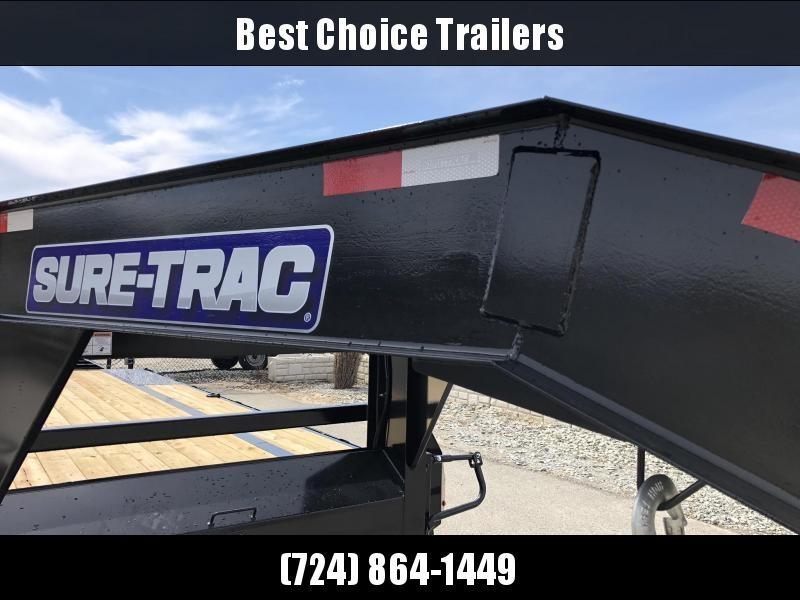 2019 Sure-Trac 102x20+5' Gooseneck Beavertail Deckover Trailer 15000# GVW * PIERCED FRAME * CLEARANCE