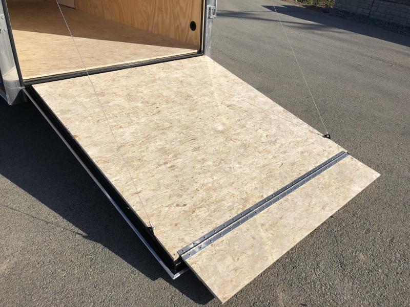 2020 Sure-Trac 7x12' Enclosed Cargo Trailer 7000# GVW * WHITE * RAMP DOOR