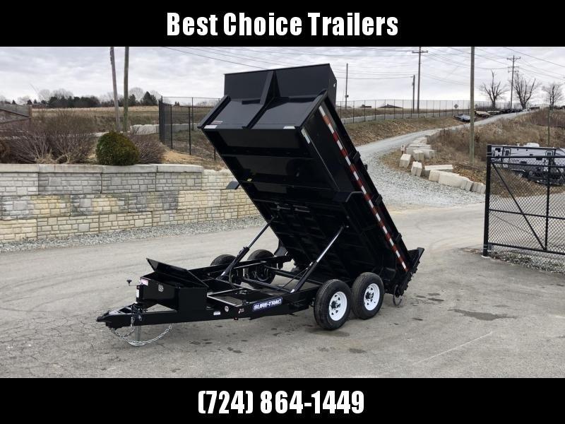 2020 Sure-Trac 7x12' LowPro Dump Trailer 9900# * DUAL PISTON - BASE