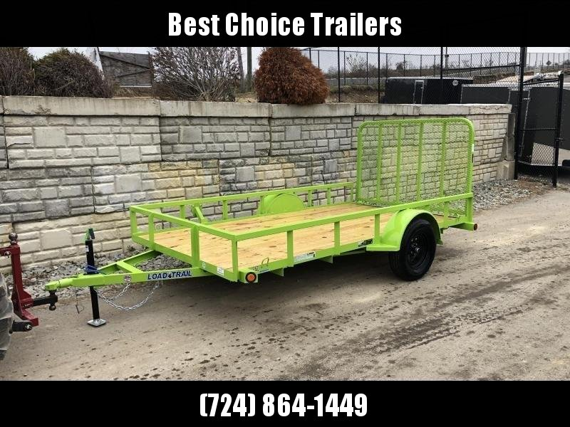 2020 Load Trail  Utility Trailer * SE7712031 * NEON GREEN * TUBE TOP RAIL/BUMPER/GATE * SEALED HARNESS