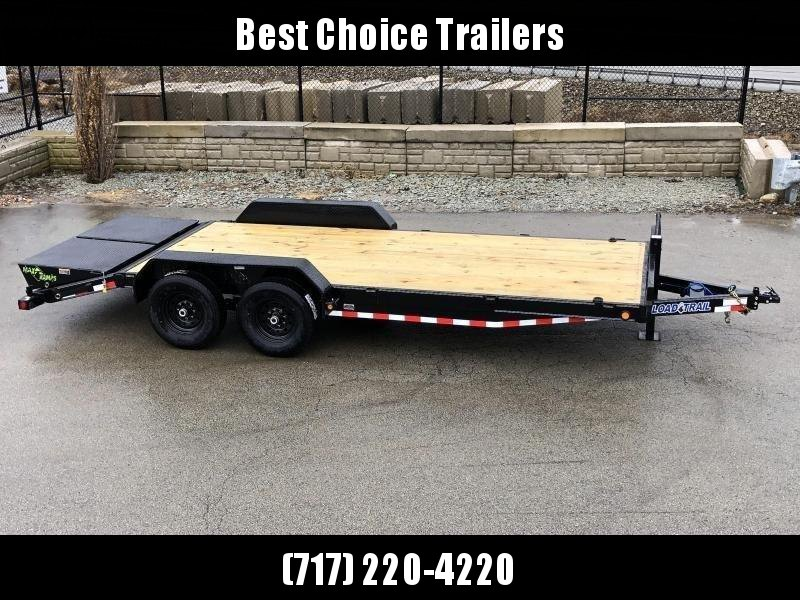 2020 Load Trail 7x20' Equipment Trailer 14000# GVW * CH8320072 * 8000# WINCH * FULL WIDTH MAX RAMPS * D-RINGS * COLD WEATHER