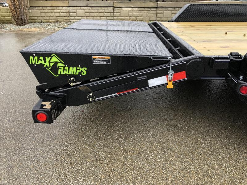 2020 Load Trail 7x20' Equipment Trailer 14000# GVW * 8000# WINCH * FULL WIDTH MAX RAMPS * D-RINGS * COLD WEATHER HARNESS * DEXTER'S * 2-3-2 WARRANTY * POWDER PRIMER * REMOVABLE FENDERS * 12K JACK * ADJUSTABLE CAST COUPLER