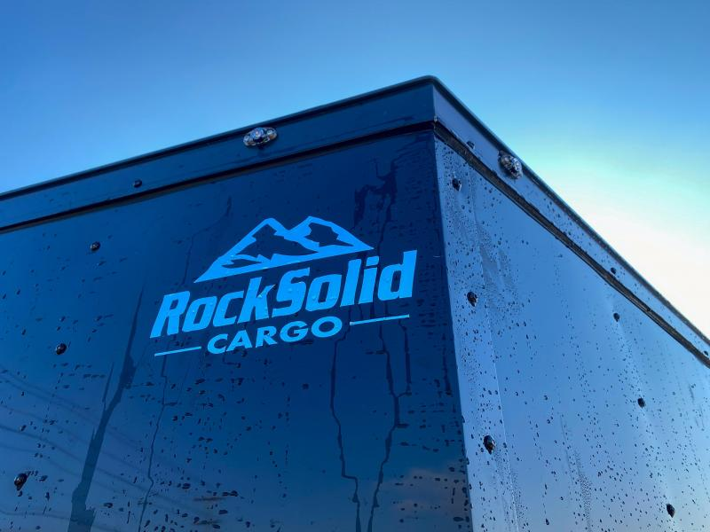 2020 Rock Solid 8.5x20' Enclosed Car Trailer 7000# GVW - BLACKOUT PACKAGE