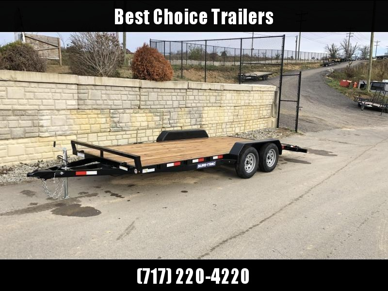 2020 Sure-Trac CHW 7x18 7000# Wood Deck Car Hauler