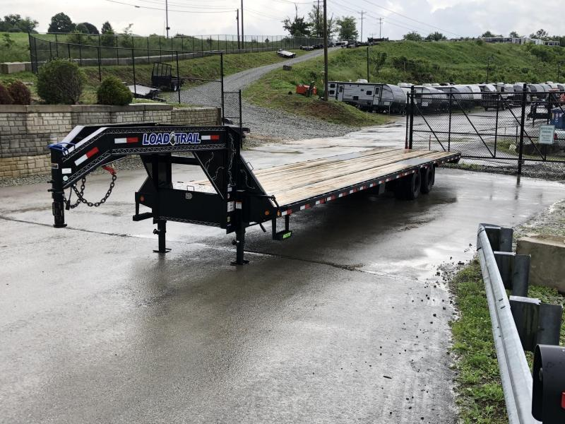 2020 Load Trail 102x40' HOTSHOT Gooseneck Deckover Flatbed 25990# Trailer * GP0240122 * 12K DEXTER AXLES * EOH DISC BRAKES * 8' RAMPS * HDSS Suspension * Under frame bridge * Torque Tube