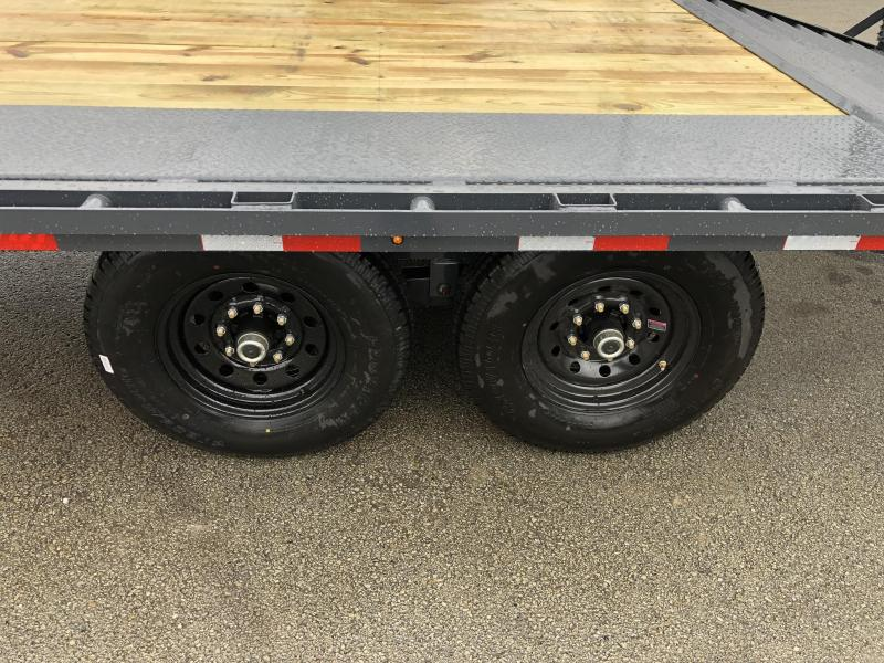 2020 Lamar F8 102x20' Beavertail Deckover Trailer 14000# GVW * DELUXE RAMPS  * CHARCOAL