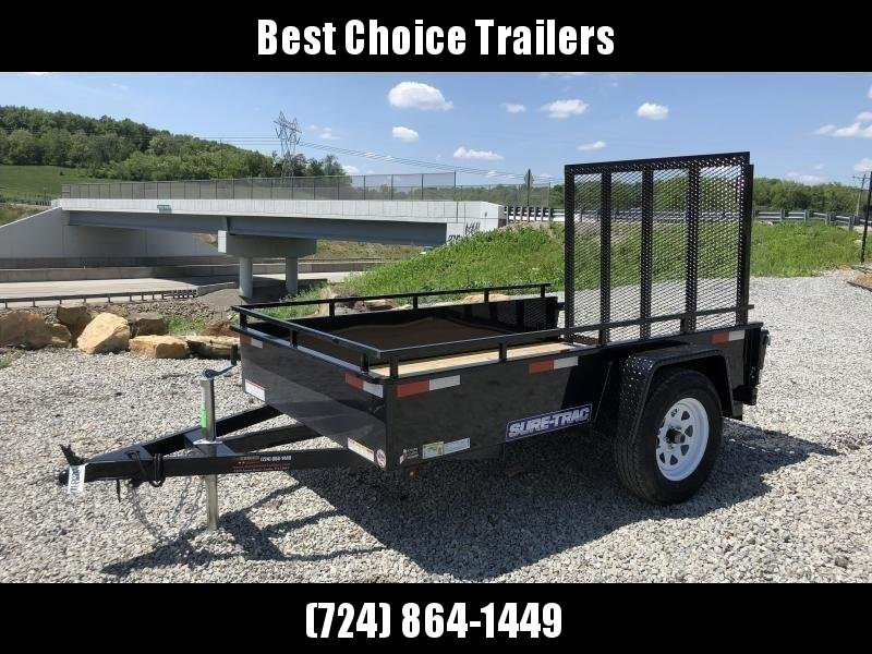 2019 Sure-Trac 5x8' Steel High Side Landscape Utility Trailer 2990# GVW * CLEARANCE