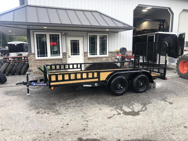 2019 Load Trail 7x14' Tube Top Utility Landscape Trailer 7000# GVW * UE8314032 * TUBE TOP * DEXTER'S * ATV RAMPS * 2-3-2 WARRANTY