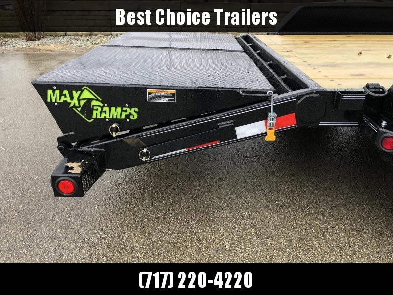 2020 Load Trail 7x20' Equipment Trailer 14000# GVW * CH8320072 * FULL WIDTH MAX RAMPS * D-RINGS * COLD WEATHER * DEXTER'S * 2-3-2 * POWDER PRIMER