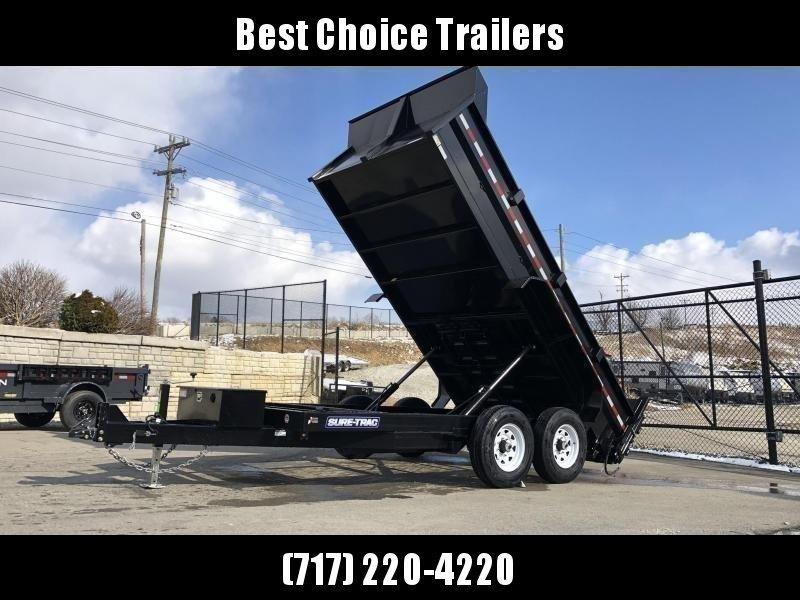 2020 Sure-Trac 7x14' LowPro HD Dump Trailer 14000# GVW