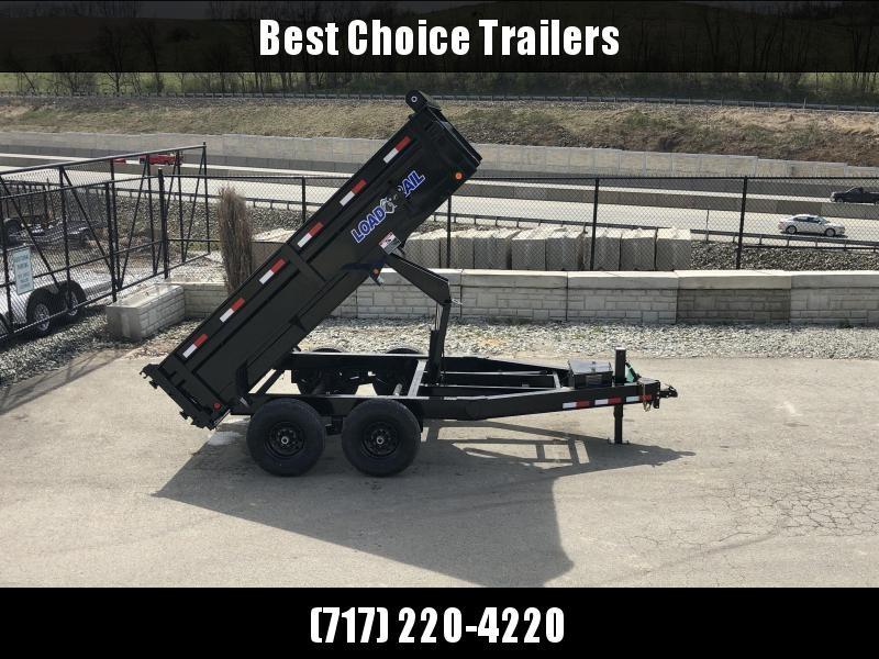 "2019 Load Trail 7x12' Dump Trailer 14000# * 8"" I-BEAM FRAME * 12K JACK * 3-WAY GATE * TARP KIT * SCISSOR HOIST * 10GA 2PC SIDES & FLOOR * 6"" BED FRAME * DEXTER'S * 2-3-2 * PRIMER * CLEARANCE"