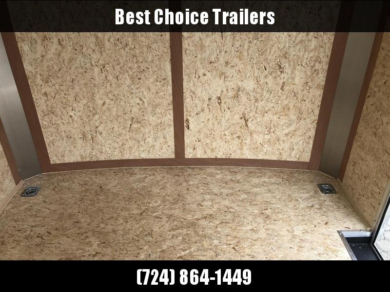2020 Wells Cargo 8.5x16' Road Force Enclosed Cargo Trailer 9990# GVW * WHITE EXTERIOR * RAMP DOOR