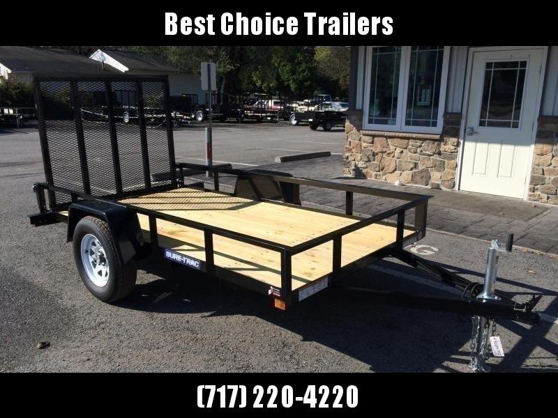 2020 Sure-Trac 6x10' Angle Iron Utility Trailer 2990# GVW