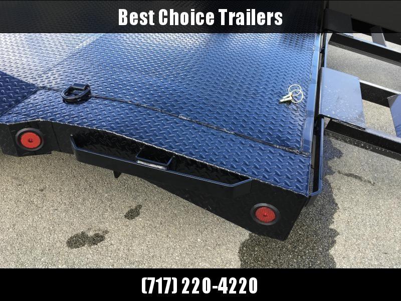 "2019 Ironbull 102""x20' Steel Deck Car Trailer 9990# GVW * STEEL DECK  * 102"" DECK * DRIVE OVER FENDERS * 16"" O.C. FLOOR * 6"" FRAME * BUGGY HAULER * ALUMINUM WHEELS - CLEARANCE"