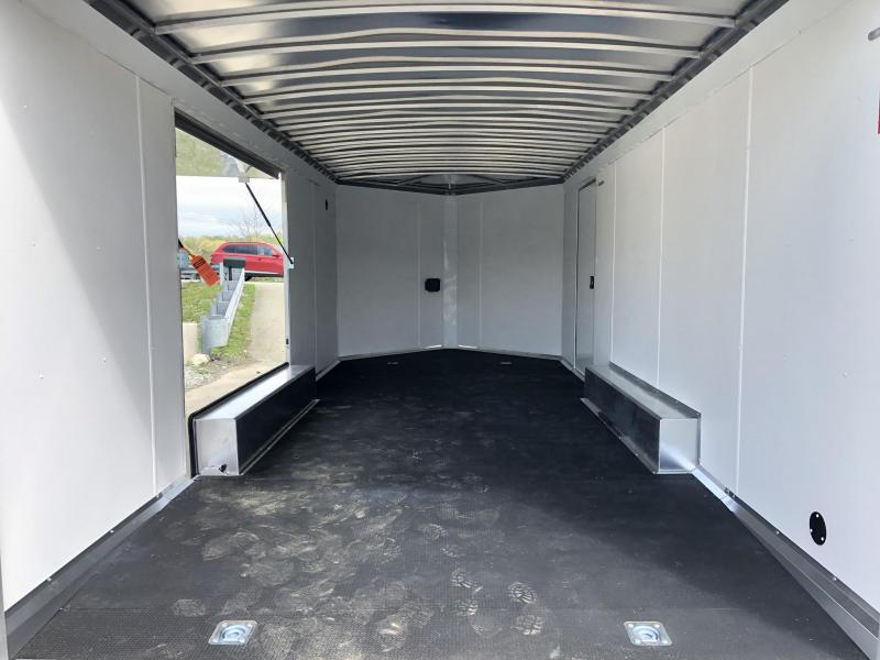 NEW NEO Aluminum 8.5x20' 9900# Spread Axle Enclosed Car Trailer NCBS2085R * NUDO FLOOR & RAMP * FULL ESCAPE DOOR * CLEARANCE