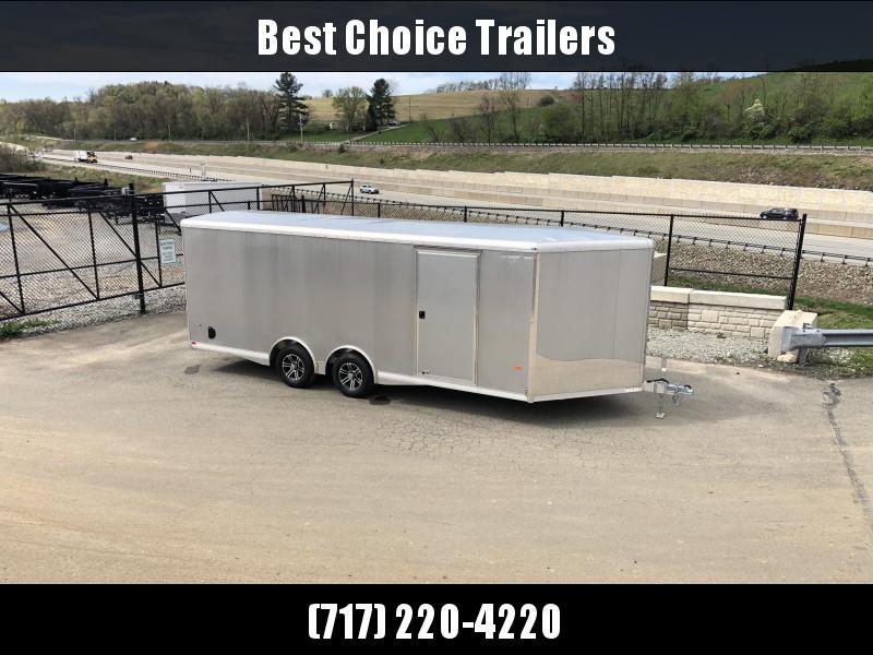 NEW NEO Aluminum 8.5x20' 9900# Spread Axle Enclosed Car Trailer NCBS2085R * NUDO FLOOR & RAMP * FULL ESCAPE DOOR * CLEARANCE
