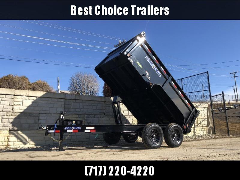 "2020 Load Trail 7x12' Dump Trailer 14000# * 3' HIGH SIDES * 8"" I-BEAM FRAME * 12K JACK * 3-WAY GATE * TARP KIT * SCISSOR HOIST * 10GA 2PC SIDES & FLOOR * 6"" BED FRAME * DEXTER'S * 2-3-2 * PRIMER"