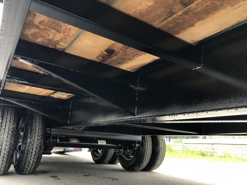 USED 2018 Sure-Trac 102x20+5' HD LowPro Beavertail Deckover 22500# GVW * OAK BEAVERTAIL/OAK DECK/OAK RAMPS * PAVER SPECIAL * CLEARANCE