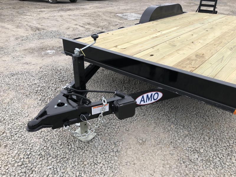 2020 AMO 7x16' Equipment Trailer 9990# GVW * ALL LED LIGHTS