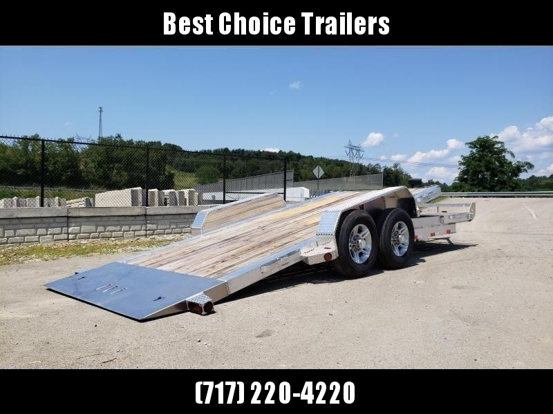 2020 Ironbull 7x16+4 Aluminum Gravity Tilt Equipment Trailer 14000# * ALUMINUM * TORSION * STOP VALVE * ALUMINUM WHEELS * CLEARANCE